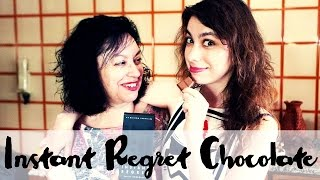 Trying Instant Regret Chocolate with my Mother