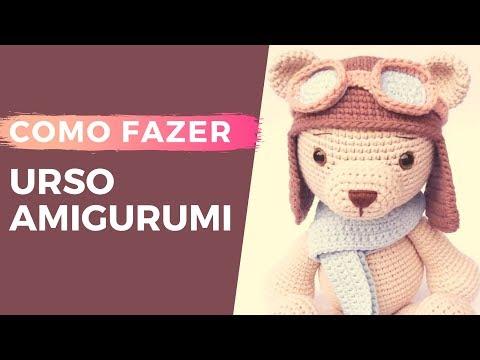 Pequeno Ursinho Amigurumi 🐻 - YouTube | 360x480