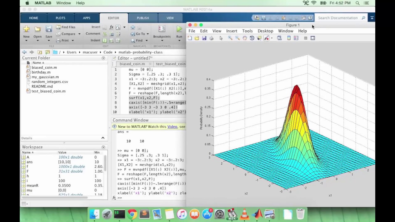 Learn MATLAB Episode #31: Multivariate Gaussian