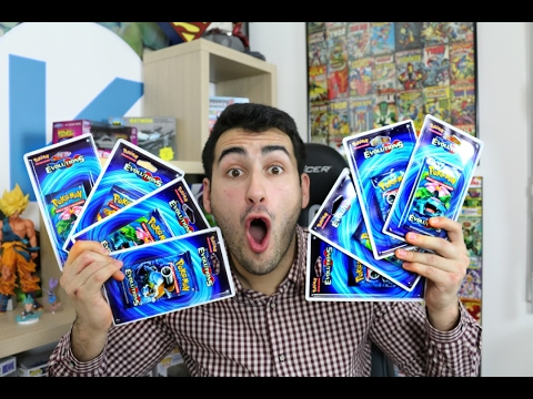 OUVERTURE DE 8 BOOSTER POKEMON EVOLUTION FULL ART QUI TOMBE !