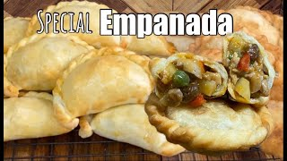 CHICKEN EMPANADA  2 ways to cook fry &amp oven baked