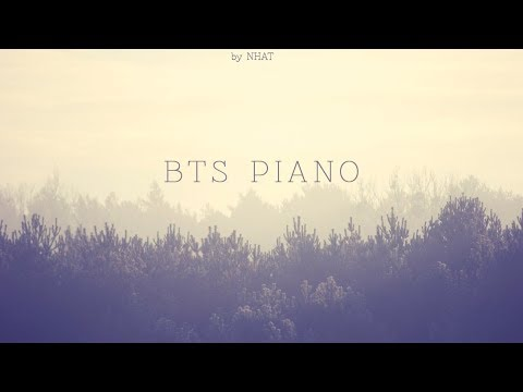 BTS Piano 1 Hour | BTS Piano for Sleeping and Studying