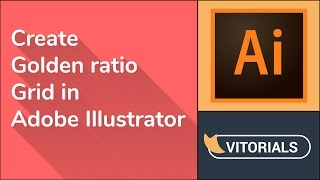How to set up Golden Ratio grid in Adobe illustrator. Rectangle grid tool tutorial