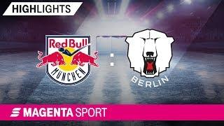 EHC Red Bull München - Eisbären Berlin | 4. Spieltag, 19/20 | MAGENTA SPORT