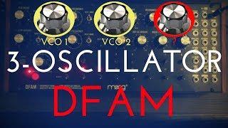Tips n' Tricks: Unlocking the Moog DFAM's 3rd Oscillator