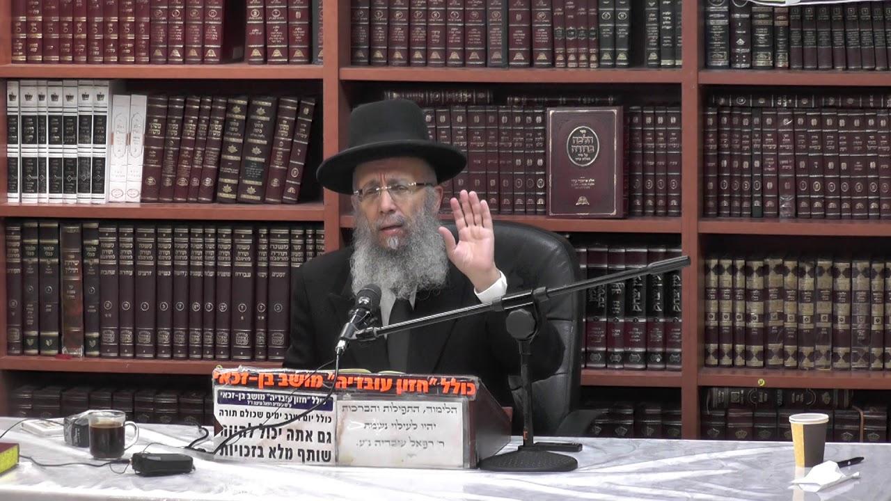 הרב גדעון בן משה :  ברכת מעין שלש -  ספיקות שונים בנדון