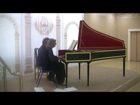 Bach Toccata  in F-sharp minor BWV 910. Elena Burundukovskaya
