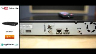 Overview of the LG HR836T HD Tuner 500GB Recorder 3D Blu Ray Player by Appliance Online