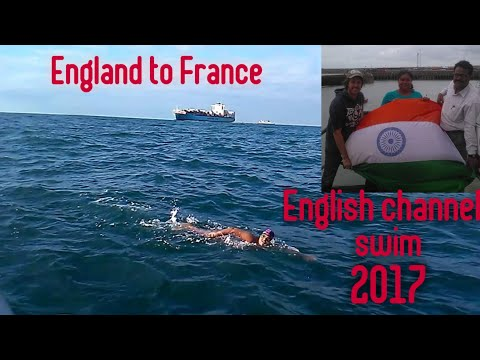 English Channel swim/Sayani Das (India) 25th July - 26th July  2017