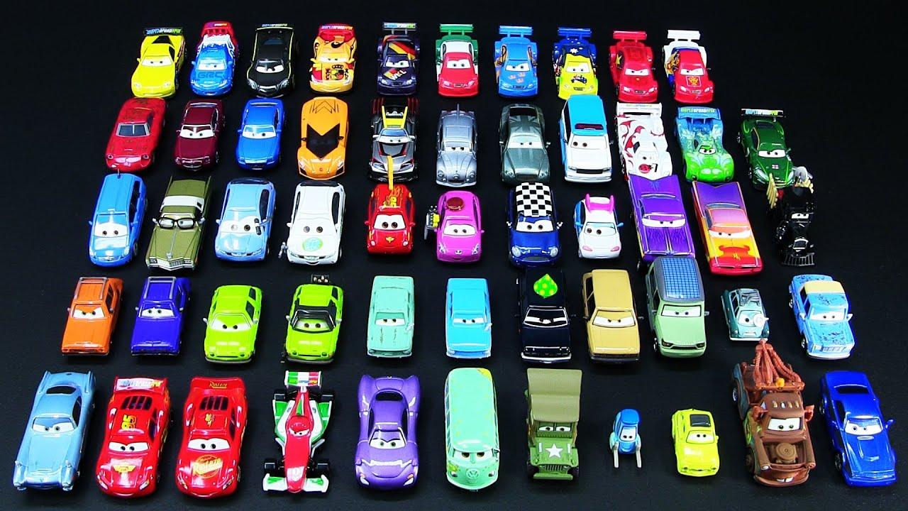 Official 2011 And 2012 Mattel Disney Pixar Cars 2