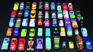 OFFICIAL 2011 and 2012 Mattel Disney Pixar Cars 2 Collection