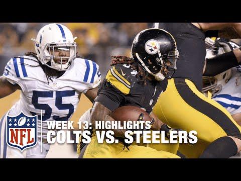 Colts vs. Steelers | Week 13 Highlights | NFL