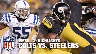 Colts vs. Steelers | Week 13 Highlights | NFL