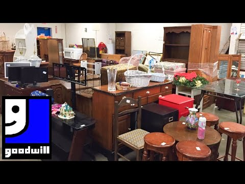 goodwill-furniture-sofas-couches-armchairs-tables-home-decor-shop-with-me-shopping-store-walkthrough