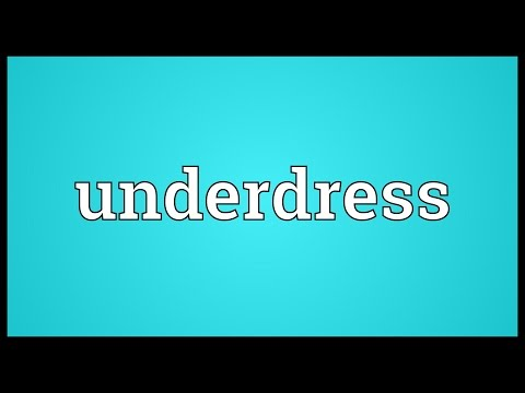 Header of underdress
