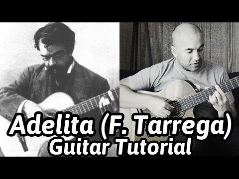 Adelita Mazurka  Tarrega  Classical Guitar Lesson  NBN Guitar