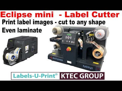 EPSON C7500 - Eclipse Mini Cut - Print And Cut Any Shape Labels - Labels-U-Print ® KTEC Group UK