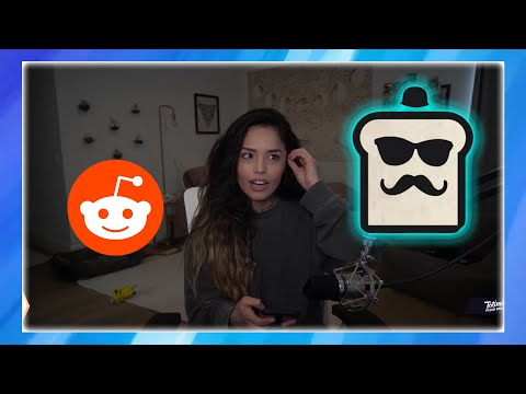 RAE REACTS TO TOAST DEFENDING HER FROM CHAT | Valkyrae Reddit Recap Reaction #0003