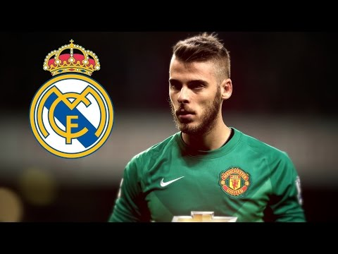 David de gea - Best Saves Manchester United - Welcome to Real Madrid (2015)