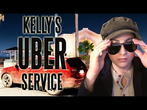 KELLY'S UBER SERVICE  (Watch Dogs 2 Taxi / Driver Missions)