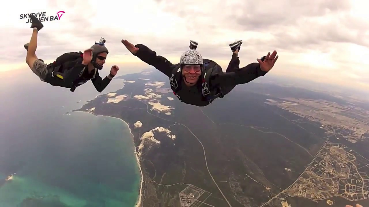 Learn to skydive in Jurien Bay. Perth. Western Australia - YouTube