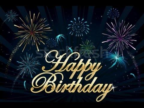 Happy Birthday Greeting - Virtual Fireworks - YouTube Animated Happy Birthday Wishes For Men