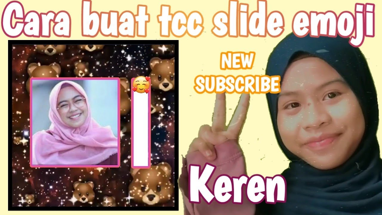 Cara membuat tcc slide Emoji -Nadya Official19 Editing #11 ...