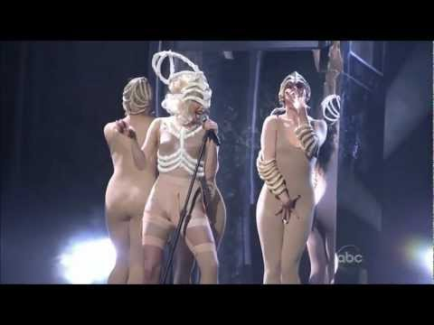 Lady Gaga - American Music Awards Bad Romance / Speechless live 2009 HD