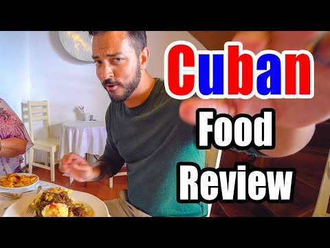 Cuban Food Review - Paladar In La Habana