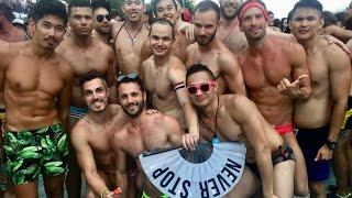 Hot tranny orgy