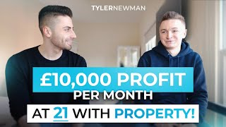 How Bradley Makes £10k Profit Per Month With Serviced Accommodation at 21 | Property Investing