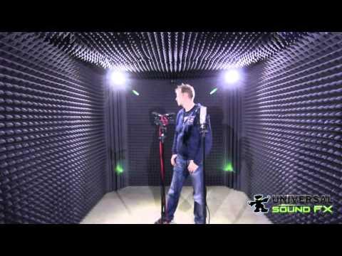 Sound Recording Room / Foley Room - Sound Absorption