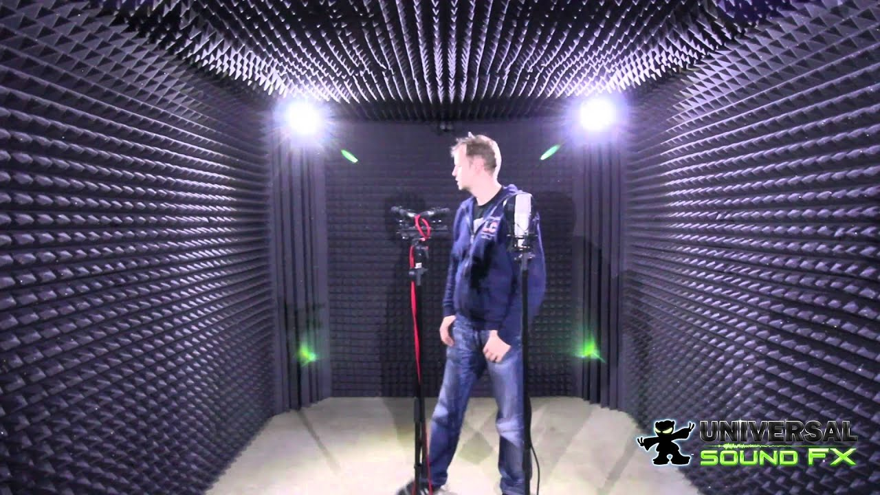 Sound Recording Room Foley Room Sound Absorption Youtube