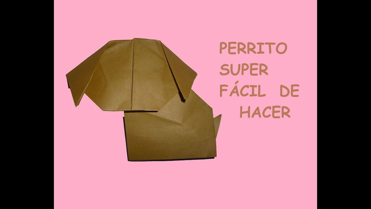 Como hacer un perrito en origami youtube for Pasos para elaborar un vivero