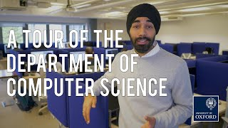 Oxford University Department of Computer Science tour