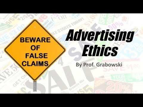 Advertising Ethics