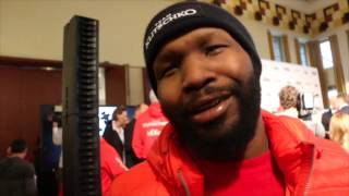 JOHNATHON BANKS (IN DUSSELDORF) ON KLITSCHKO v FURY, GLOVES SITUATION & HOW HE EXPECTS FURY TO START