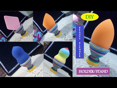 DIY Beauty Blender Holder/Stand    Paper Quilling    Its makeover tym