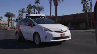 Yandex Demoing Self-Driving Car During CES 2019