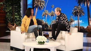 Ellen Sends Fan on a Walmart Shopping Spree