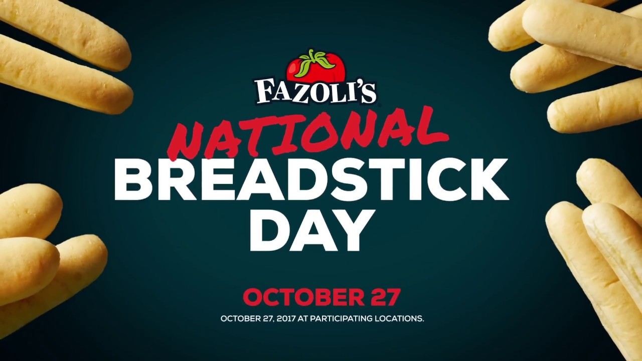 National Breadstick Day Youtube