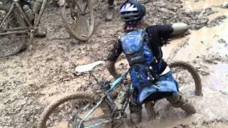 Punk Bike Enduro 2011 - A Mud Puddle