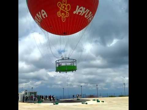 El primer globo de PUERTO RICO Y está en JAYUYA