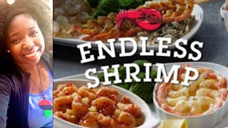 RED LOBSTER'S ENDLESS SHRIMP 2018 I PESCATARIAN DIET