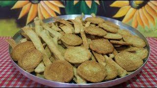 Receita de Biscoito Crocante de Sardinha
