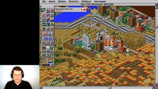 Let's Play SimCity 2000 (Part 4): City Disasters! | English Comprehensible Input for ESL Beginners
