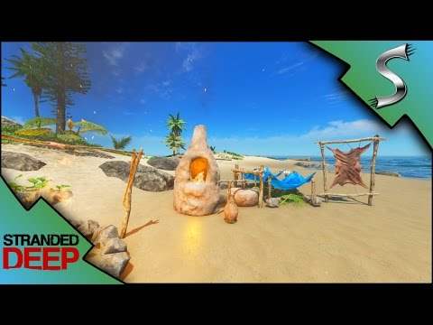 CLAY FURNACE! MAKING A CLAY WATER BOTTLE! - Stranded Deep [Gameplay E6]
