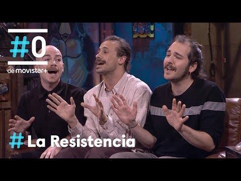 LA RESISTENCIA - Entrevista a Oriol Pla, Blai Juanet y Marc Sastre   #LaResistencia 12.03.2019