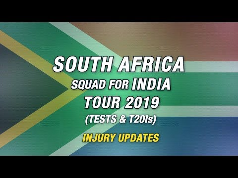 South Africa make changes to their T20I and Test squads for India