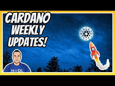 Smart Contracts on Track + ADA Price ATH   Cardano Updates!